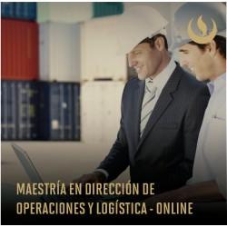 Maestría en Dirección de Operaciones y Logística Online