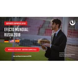 Conferencia Internacional - Deporte Expreso: Efecto Mundial Rusia 2018