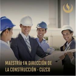 Maestría en Dirección de la Construcción - Cuzco
